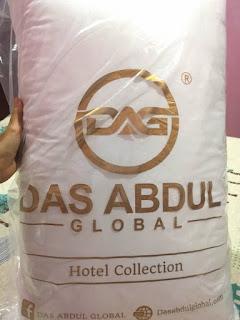 Bantal Hotel Berkualiti Das Abdul Global (DAG)
