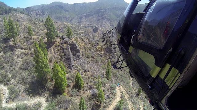 Una senderista muere en La Culata, Tejeda, Gran Canaria por parada cardiorrespiratoria