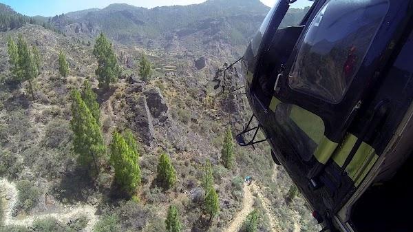 Muere una senderista en Gran Canaria por parada cardiorrespiratoria