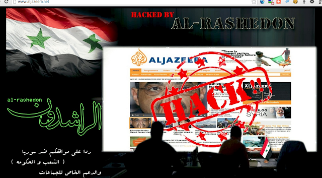 Al Jazeera News network website hacked by Pro-Assad hackers