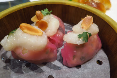 Jade Golden Palace, scallop dumplings