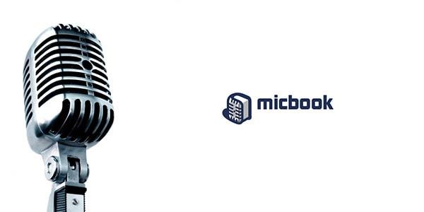 Inspirasi Desain Logo Kreatif 2017 - MicBook Logo