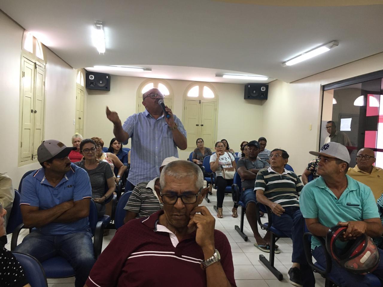 Audiência pública sobre o abastecimento de água define comissão que buscará soluções junto ao governo de Pernambuco