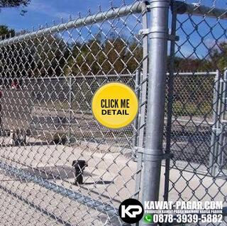 pagar kawat harmonika untuk pagar gardu listrik