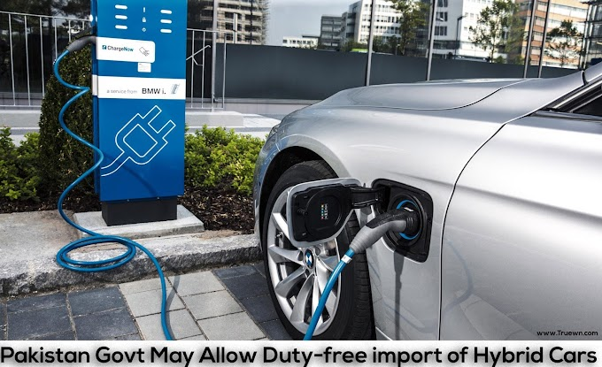 pakistan Govt may allow duty-free import of hybrid cars