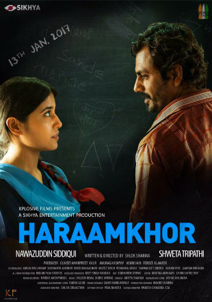 Poster of Haraamkhor 2016 Full Hindi Movie Download HDRip 480p 300Mb