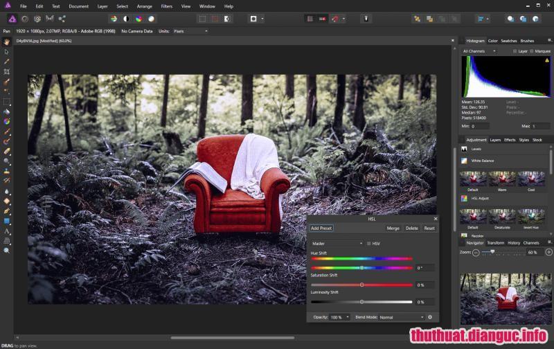 Download Serif Affinity Photo 1.6.5.135 Full Cr@ck – Phần mềm chỉnh sửa ảnh chuyên nghiệp