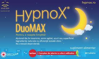 Pareri HypnoX DuoMAX pretul somnului sanatos