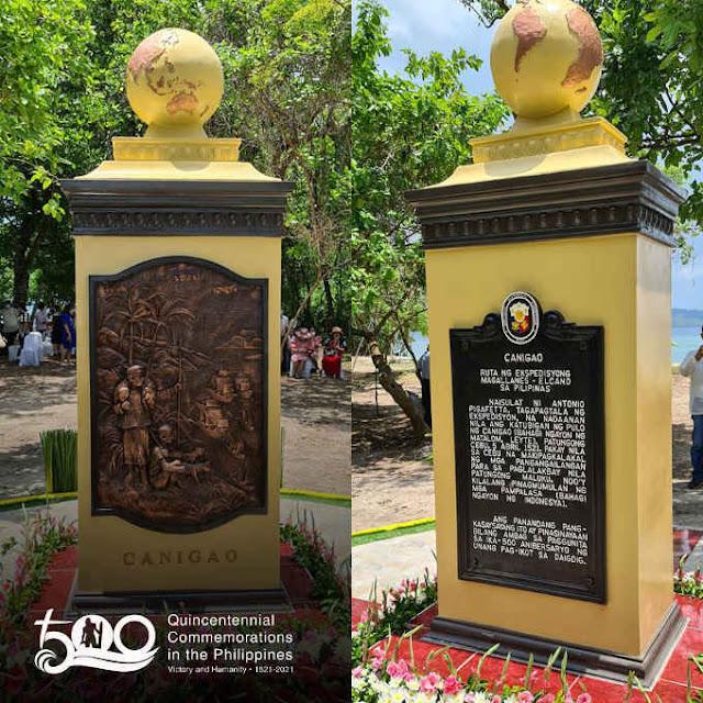 canigao historical marker