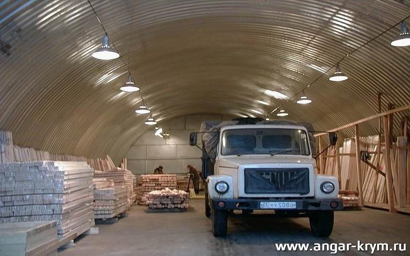 Построить ангар в Крыму