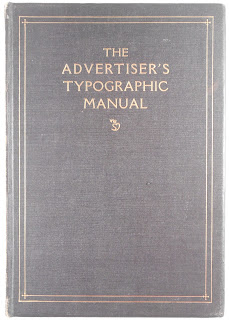 "Cover to ""The Advertiser's Typographic Manual"""
