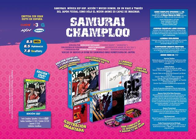 SAMURAI CHAMPLOO SERIE COMPLETA