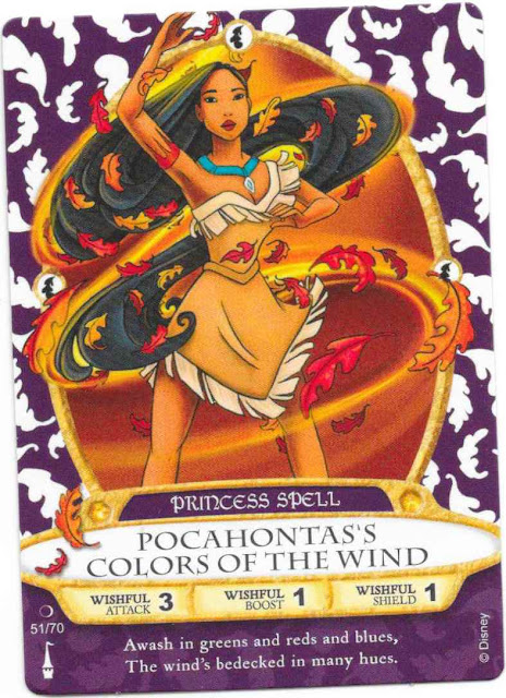 Pocahontas's Colors of the Wind Spell Card 51/70