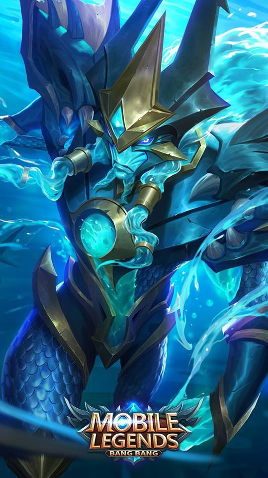 Wallpaper Alpha Sea Gladiator Skin Mobile Legends Full HD for Android and iOS