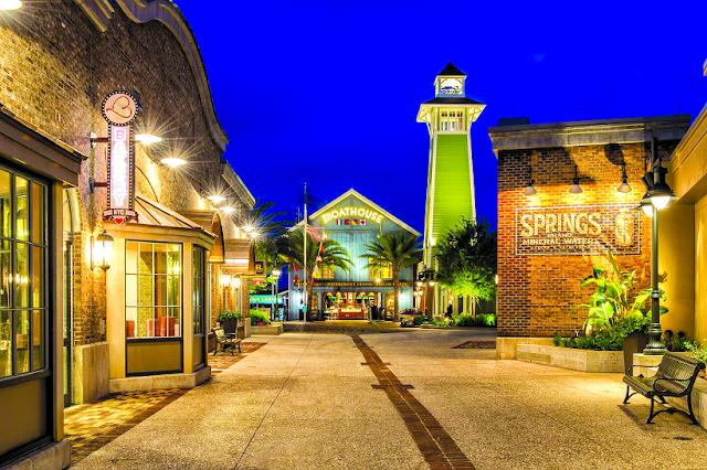 Passeio pela Disney Springs