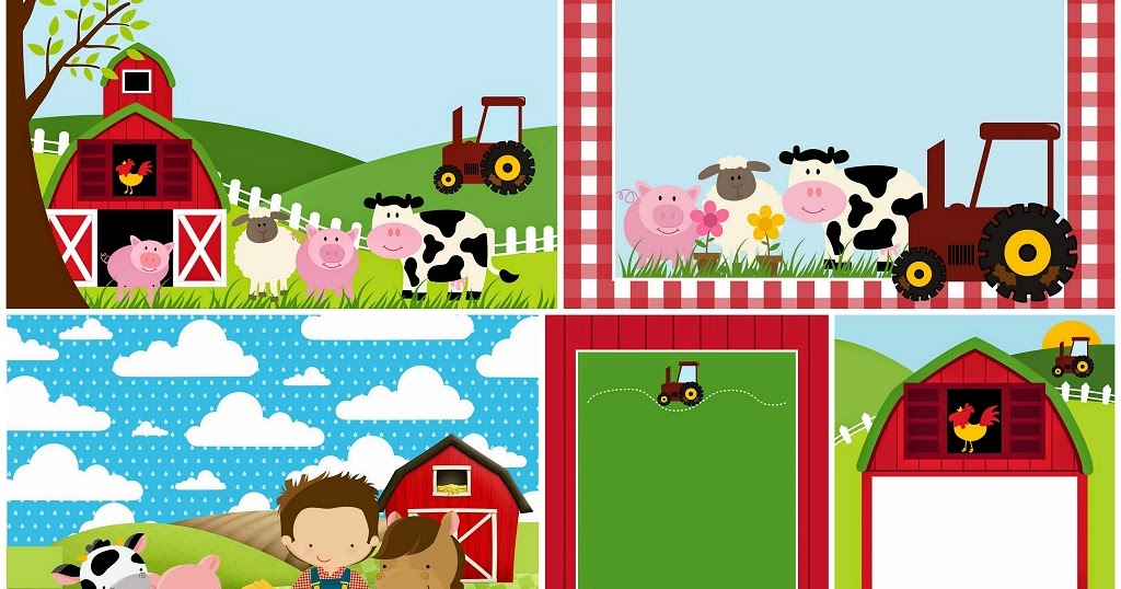 Free Printable Farm Party Invitations Oh My Fiesta! in english