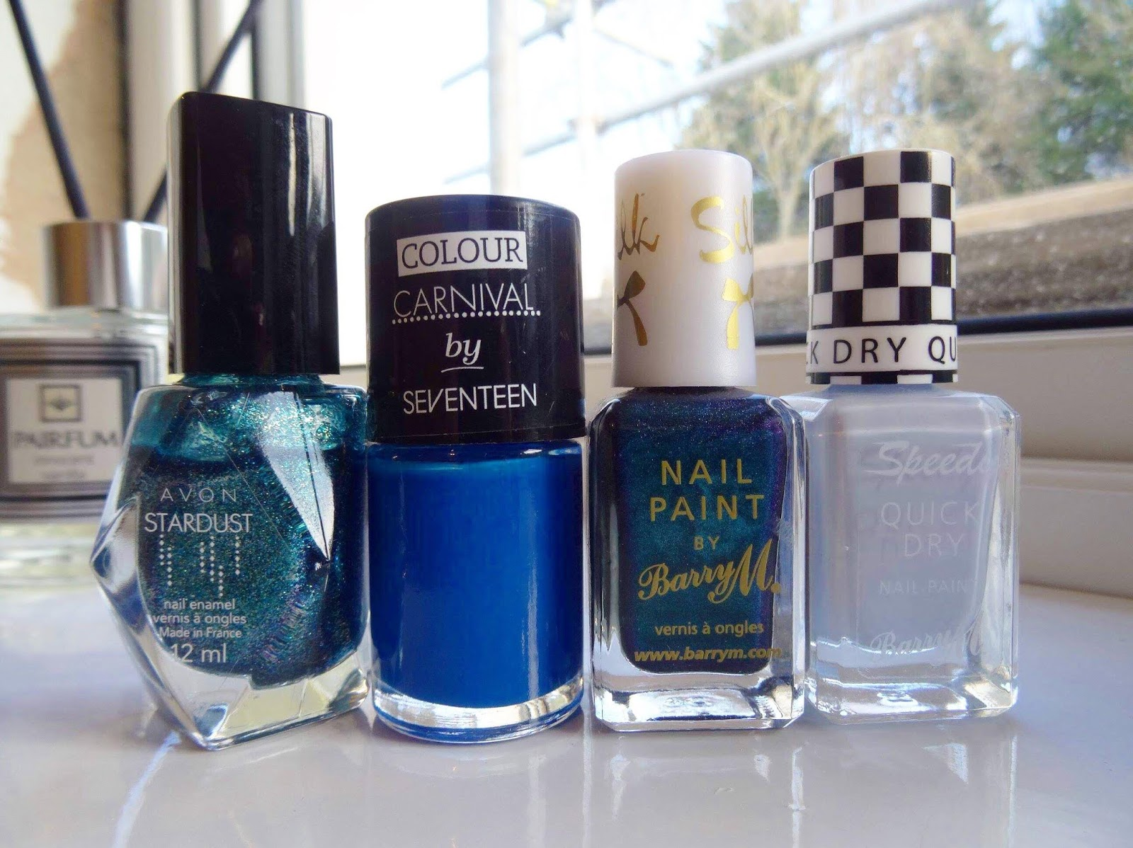 A Huge Nail Polish Declutter Blues and Greens Edition