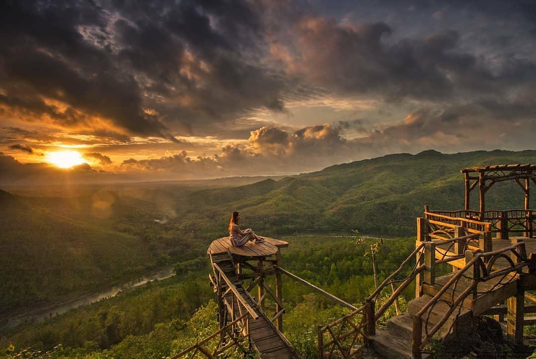 tiket wisata alam jogja bukit panguk kediwung