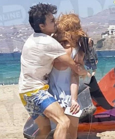 Hollywood actress Lindsay Lohan fights with Egor Tarabasov