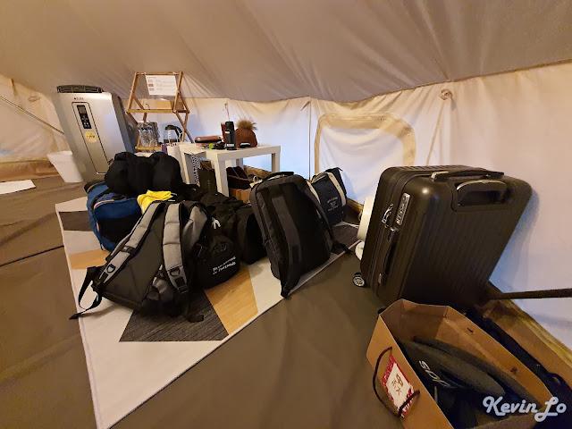 拉波波村營區每帳附有野餐墊