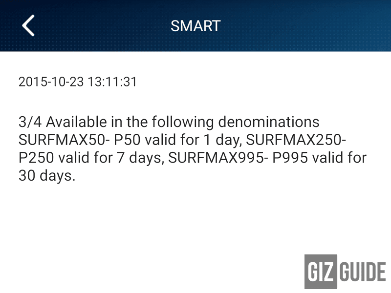 Goodbye SmartBro UnliSurf Plans, Say Hello To SurfMax Data!