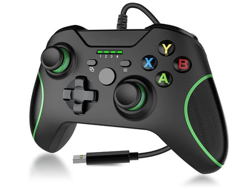 Y Team Wired Xbox One Game Controller with Audio Jack