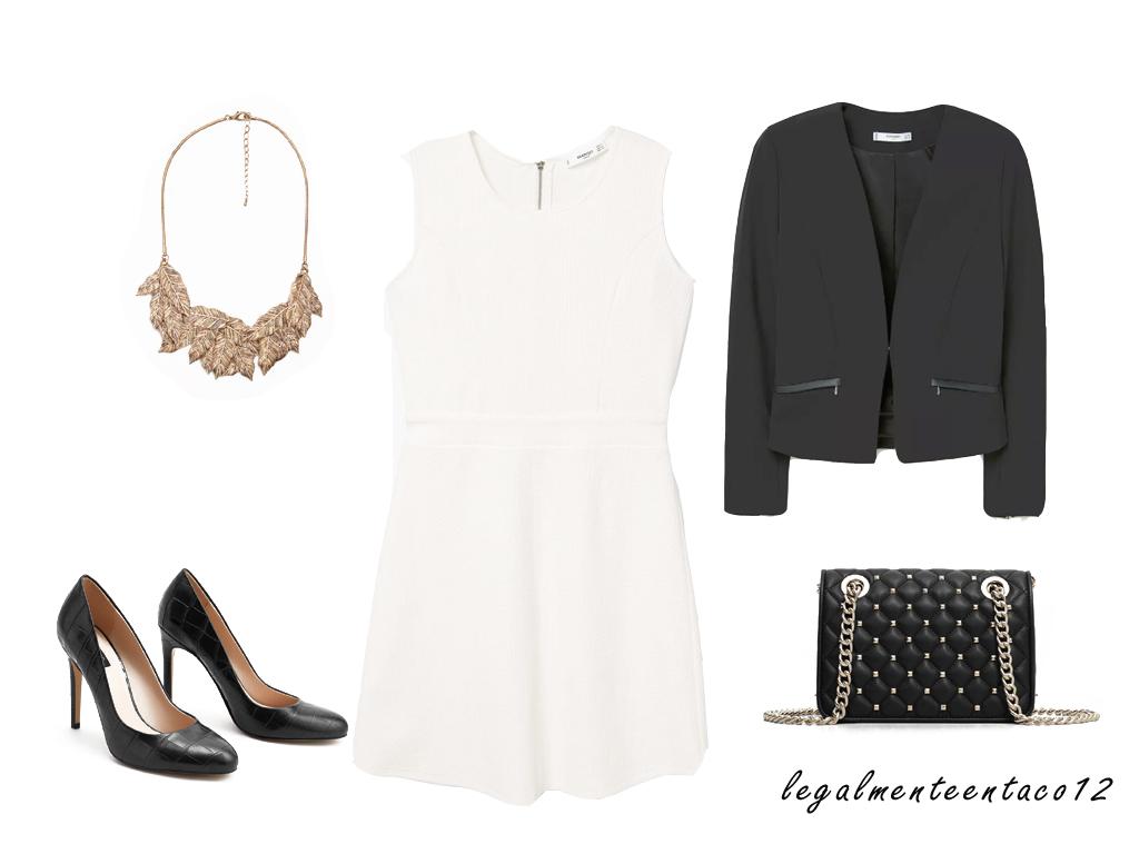 Looks Vestido Blanco