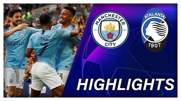 Cuplikan Gol Liga Champions Manchester City vs Atalanta 5-1