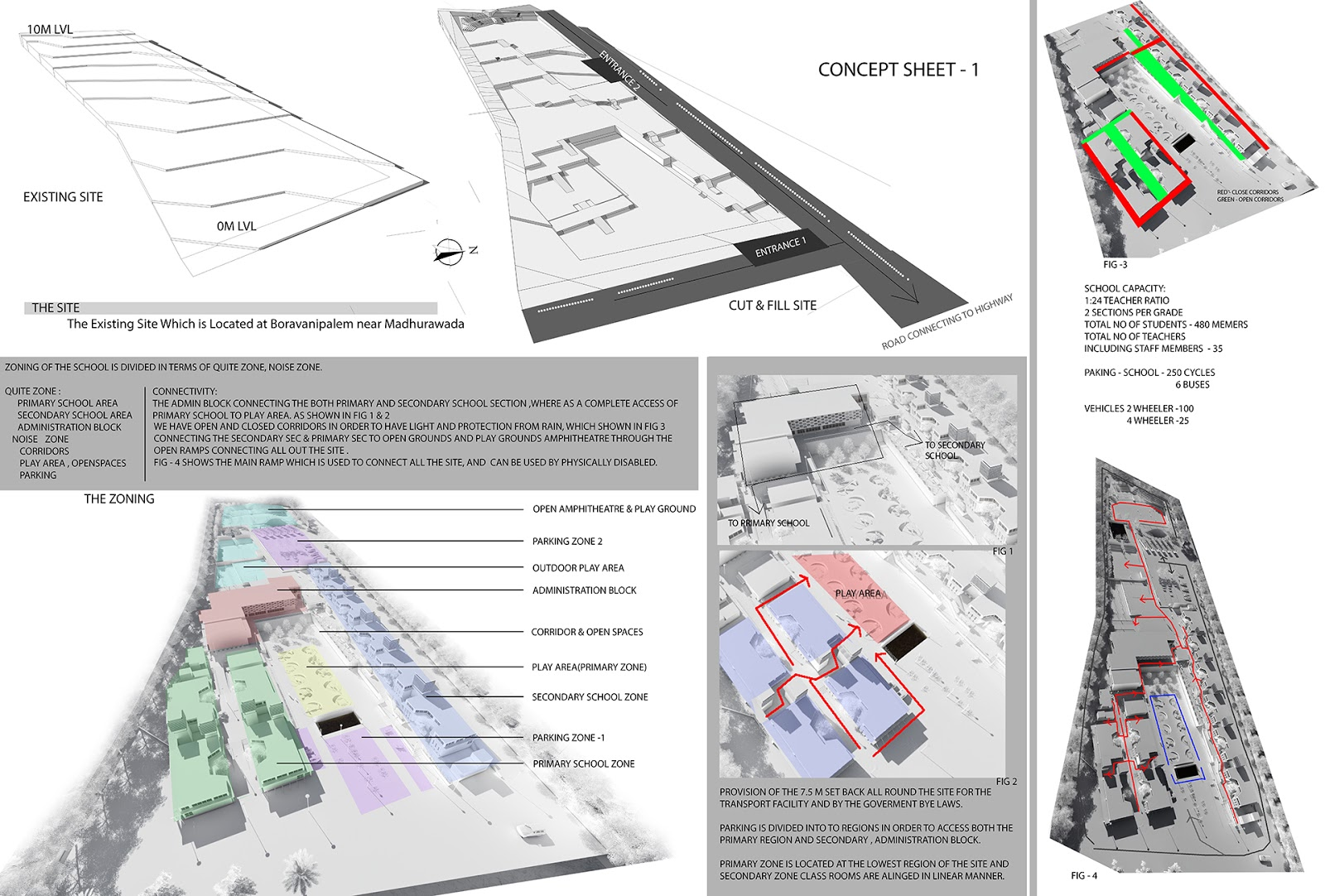 Ar pradeep s v 2016 for Architectural design concept sheet
