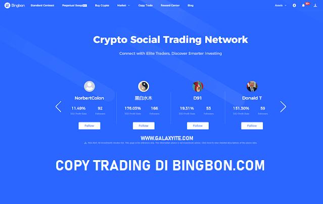 Review Menggunakan Bingbon Copy Trade Crypto | Apakah Profitable?