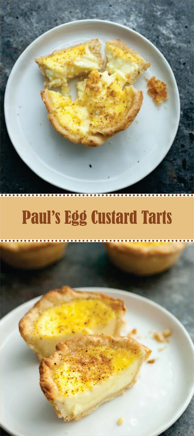Paul's Egg Custard Tarts
