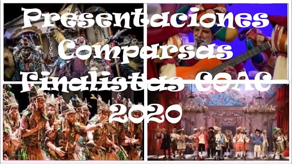 Presentaciones Comparsas Finalistas en el COAC 2020