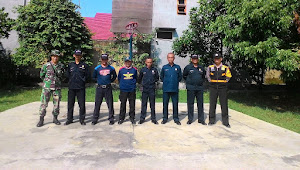 Anggota Polsek Antapani Berikan Pembinaan Kepada Satpan Perum Setra Dago