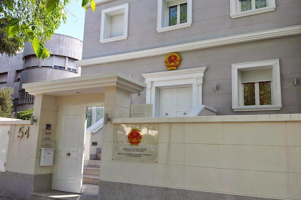Embajada de Vietnam: nueva dirección en Madrid