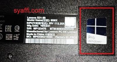 3. Sticker Windows Pro