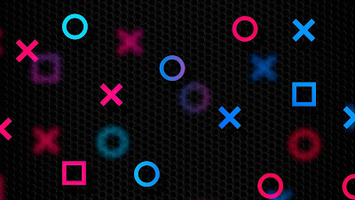 Papel de Parede Playstation Botões
