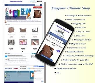 Template Ultimate Shop