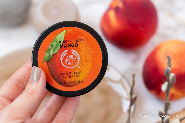 The Body Shop Mango shower gel, body butter, lip butter отзыв