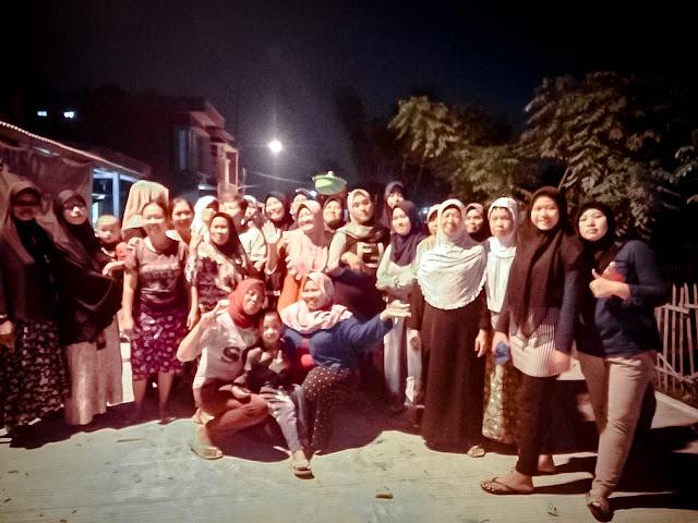 Sambut Jalan Baru, Warga Kampung Turi Sriamur Adakan Syukuran
