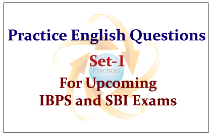 Practice English Questions