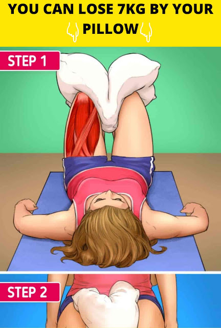 7 Exercises That You Can Do With A Pillow