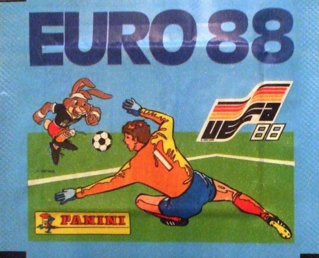 Bustina figurine Euro 88