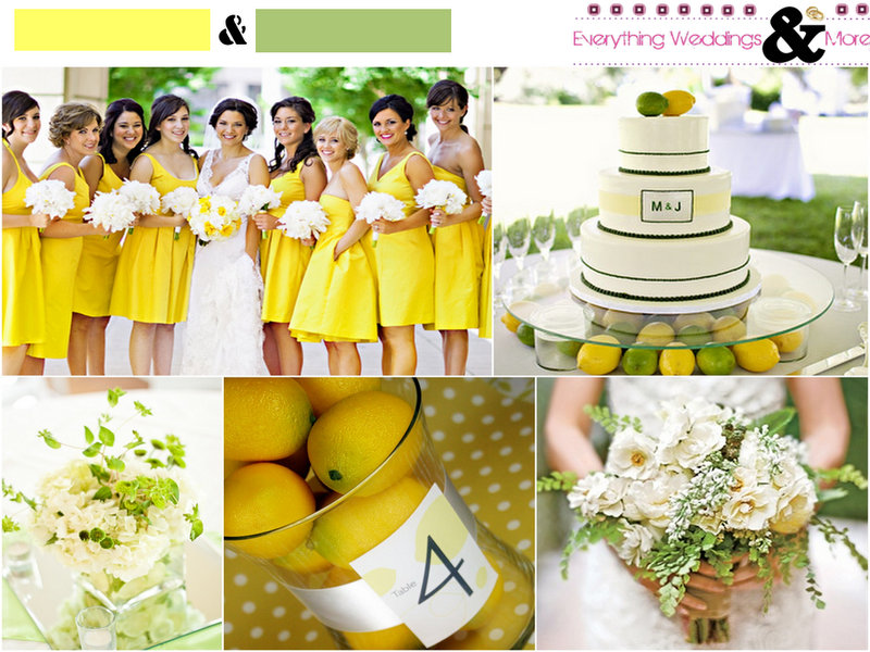 Yellow-Green-Fruits-Wedding-Inspiration