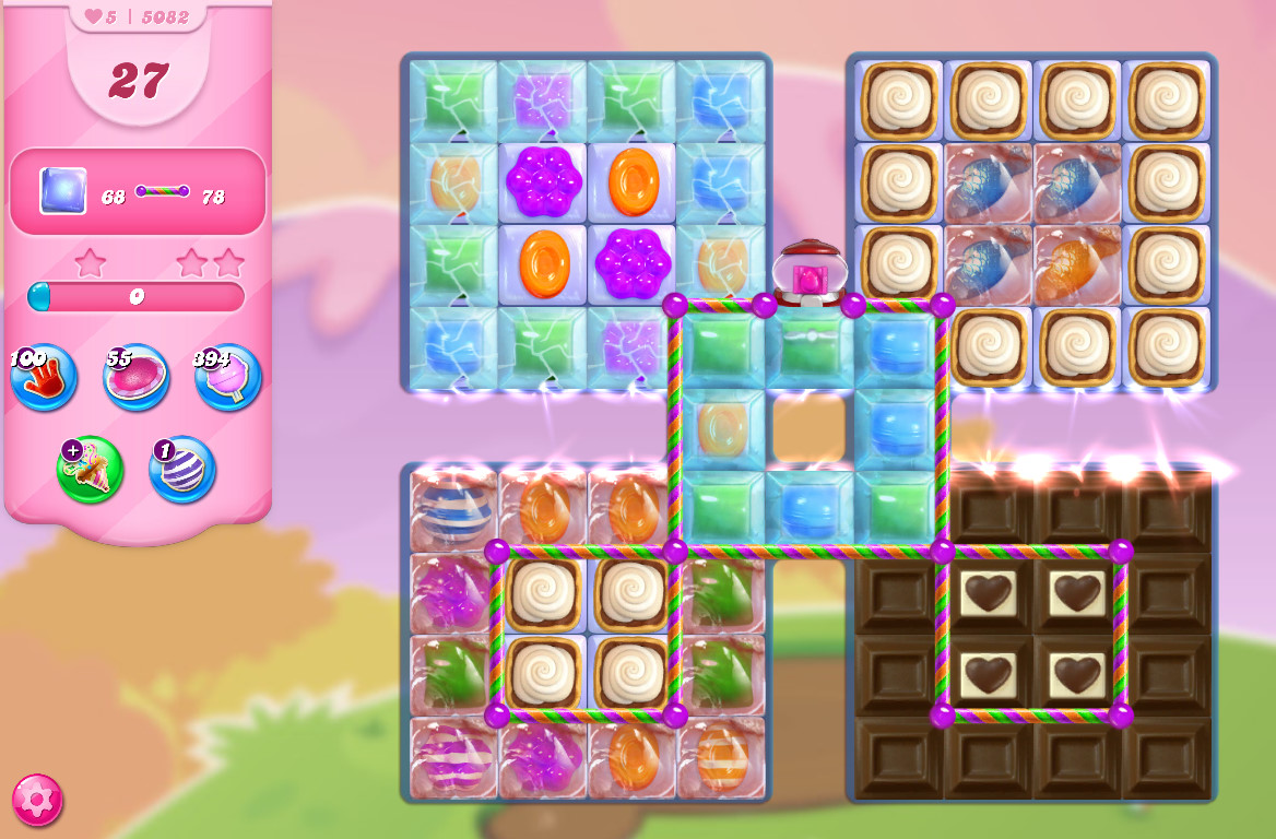 Candy Crush Saga level 5082