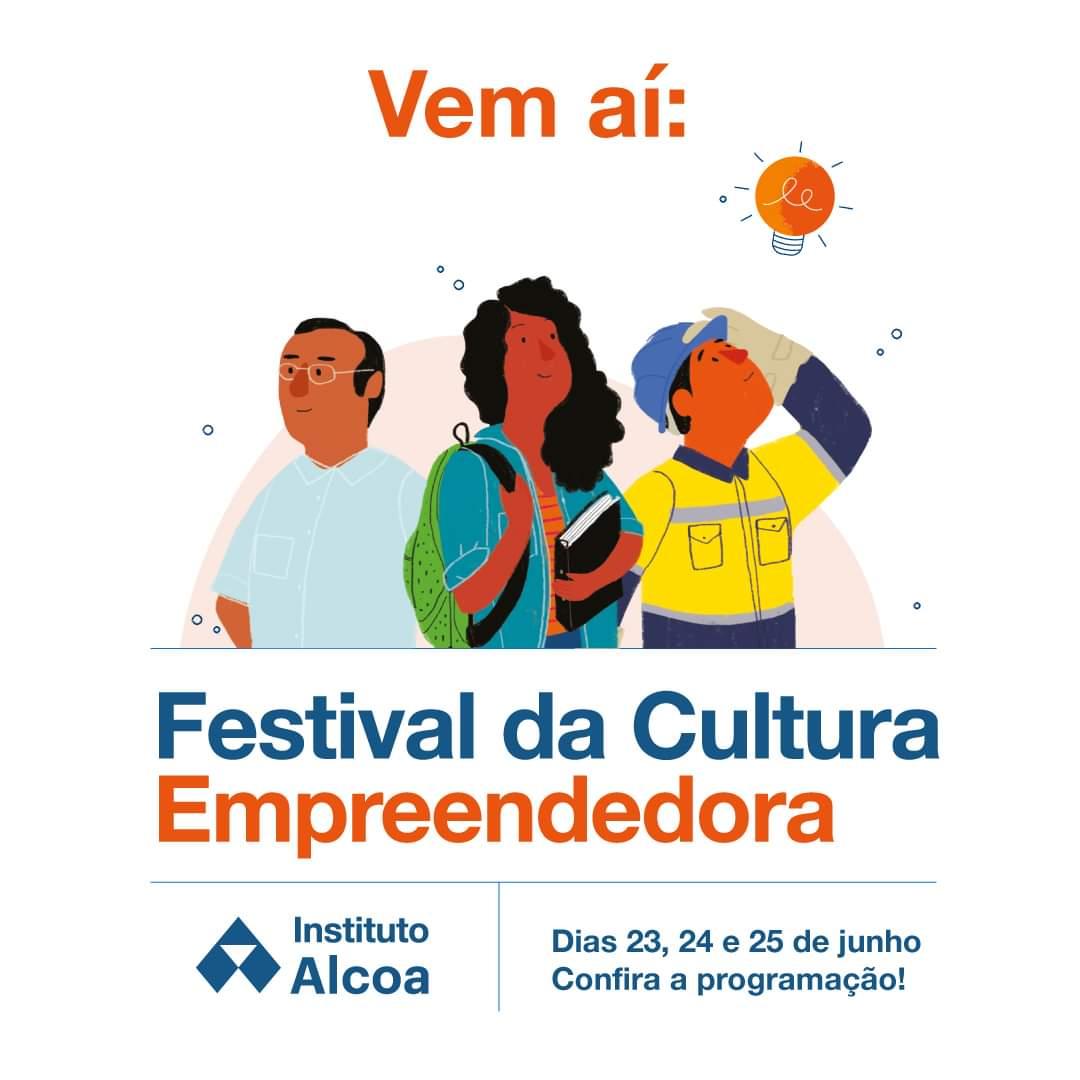 Instituto Alcoa realiza a primeira edição do Festival da Cultura Empreendedora