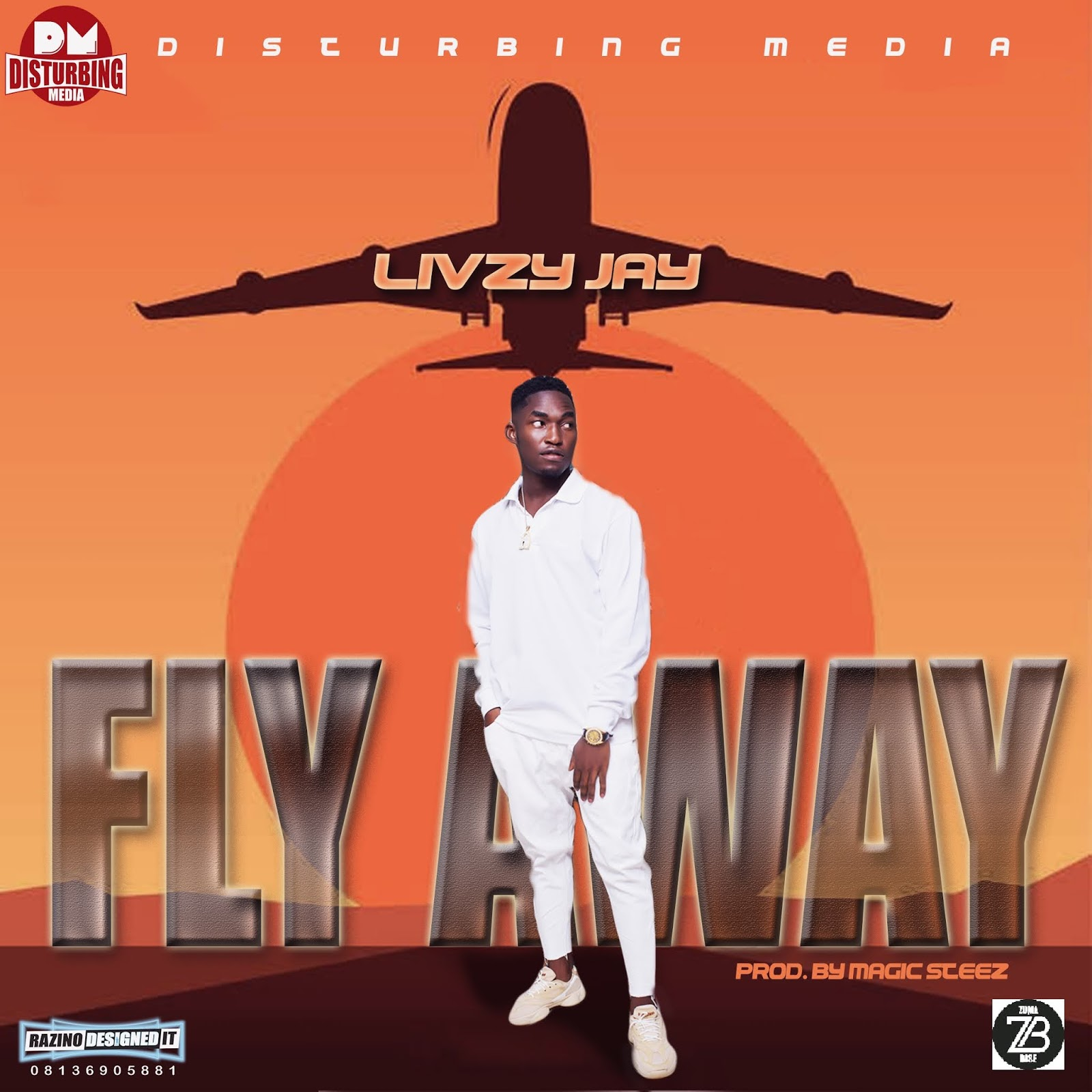 [MUSIC] Livzy Jay_Fly Away (m&m by Magic Steez) #Arewapublisize