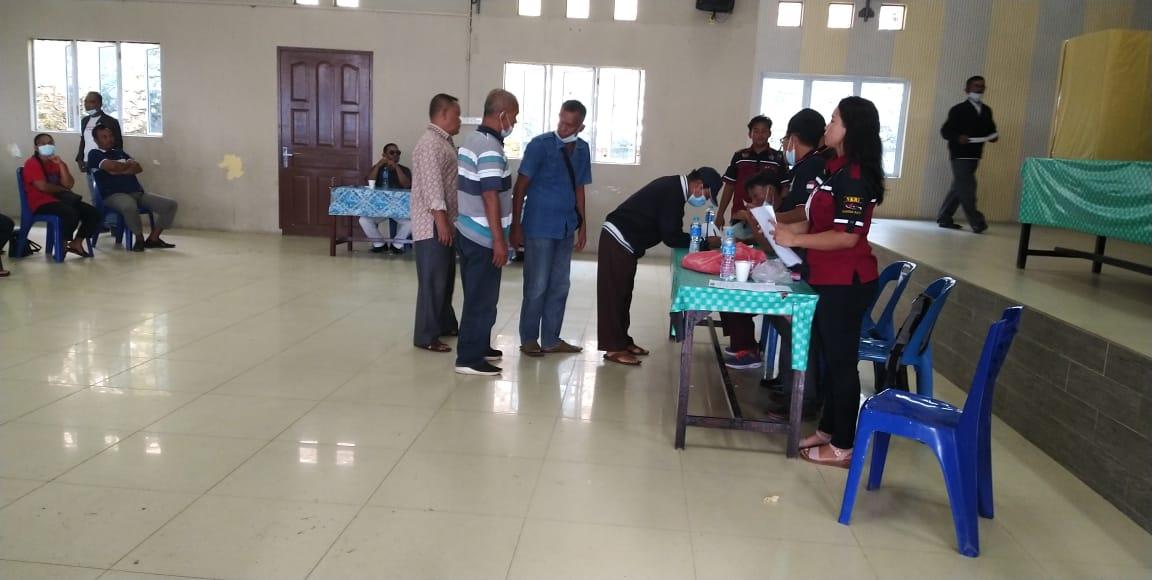 Dua Kandidat Bersaing Dalam Pemilihan Ketua Perkumpulan Batak Kabupaten Karimun Periode 2021-2024