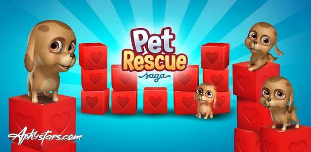 تحميل لعبة  Pet Rescue Saga APK النسخة المهكرة