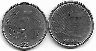 5 centavos, 1995