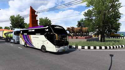 Traffic Laksana SR2 XHD Prime ETS2 1.36 - 1.40